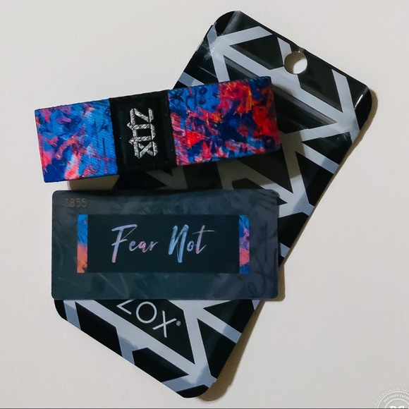 ZOX Jewelry - ZOX Strap Wristband & Card - Fear Not